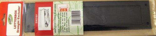 Easyfix Zugluft Dichtung / Briefkasten Dichtung mit Klappe und Befestigung – DE707-Braun