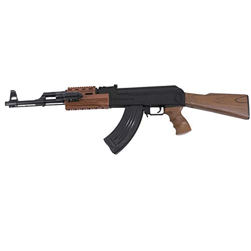 Amont Escopeta CYMA Tipo AK47 Calibre 6mm - Negra - Energía 0.5 Julios - Velocidad de Disparo 91m/s - 300 PFS. Ref:P48