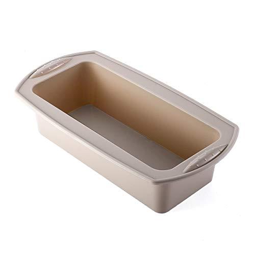 Molde de silicona para pan, molde para hornear tartas, diseño de mano antideslizante, molde para pan antiadherente