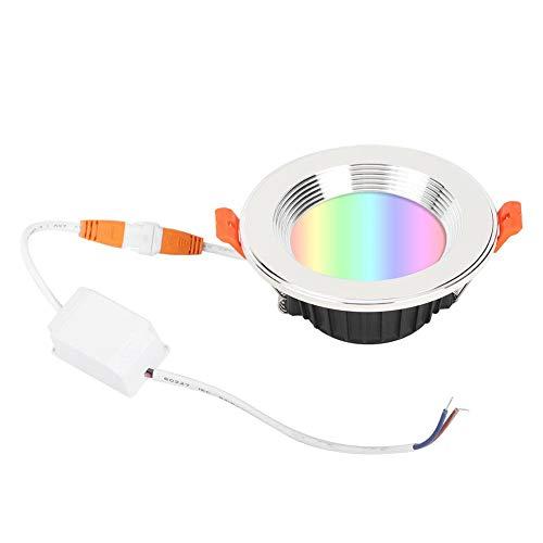 Luz LED, 7W AC85-265V Luz WiFi Luz Inteligente de Ahorro de energía, Diseño Moderno para Dormitorio Estudio Comedor Sala de Estar Oficina del Hotel