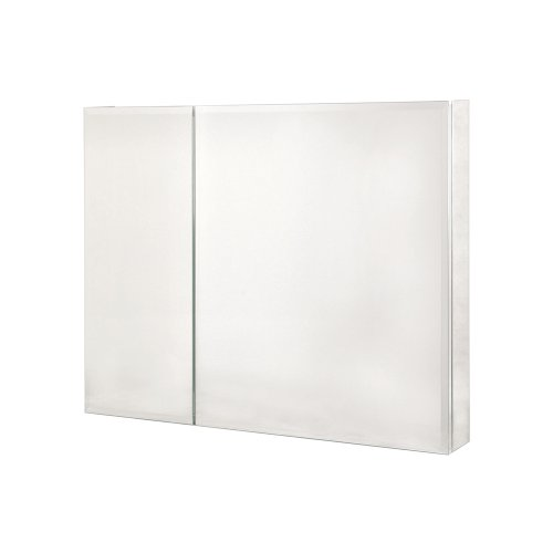 Pegasus SP4587 30-Inch by 36-Inch Bi-View Beveled Mirror Medicine Cabinet, Clear