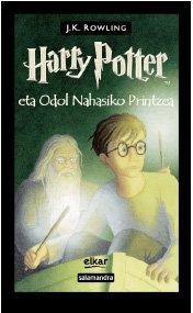 Harry Potter eta Odol Nahasiko Printzea (Basque Edition)
