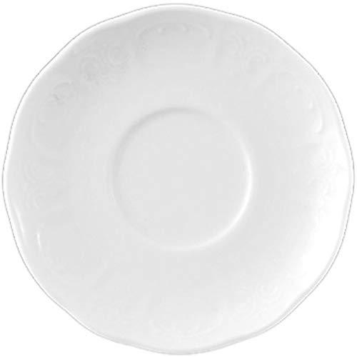 LILIEN »Bellevue« weiß, Espresso-Untere, ø: 116 mm