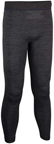 Avento Men's Thermal Trousers Superior Black/Dark Blue, Taille:S