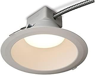 GE Lighting RX610830MV RX Series 6 in Round Retrofit LED recessed Downlight, White