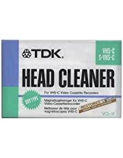 VHS-C - Limpiador de cabeza para videocámara o videograbador