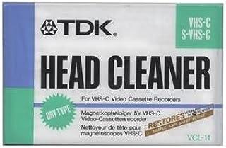 Limpiador de cabeza para videocámara o grabador VHS-C