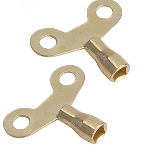 Ruluti Tecla del Grifo, Brassssocket para Grifo Y Radiador 2 Pc