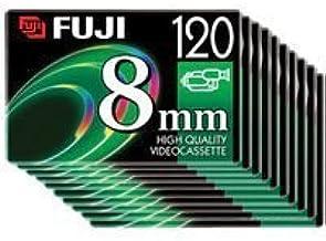 Fuji 8mm P6-120 Video Tape (10 Pack)