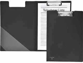 FolderSys 10 x Klemmbrettmappe A4 PP schwarz