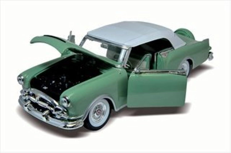 tienda 1953 Packard Packard Packard Cocheibbean Soft Top verde 1 24 by Welly 24016 by Welly  servicio honesto