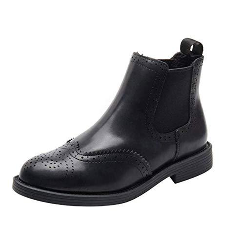 RHSMP Dameslaarzen, bloemenlaarzen, lage hakken, vintage laarzen met laarzen, Martin laarzen voor dames, geschikt voor elke gelegenheid