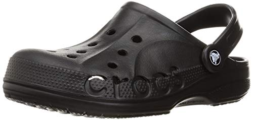 Crocs Baya Clog, Black, 11 US Men / 13 US Women
