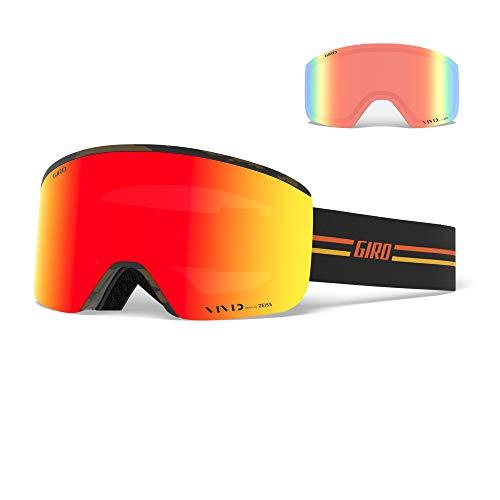 Giro Snow Axis Masque de Ski pour Homme Noir/Orange Vif