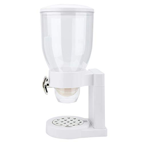 Dispensador de alimentos secos iFCOW, de una sola cabeza, vertical, cereales, avena, multigrano, máquina dispensadora de alimentos secos para el hogar, cocina y cupón