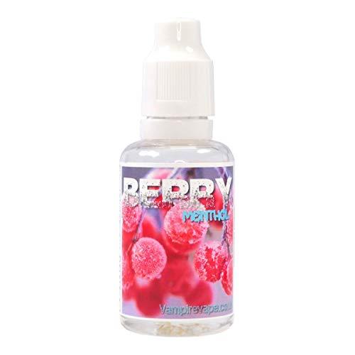 Vampire Vape Aromakonzentrat Heisenberg, zum Mischen mit Basisliquid für e-Liquid, 0,0 mg Nikotin, 30 ml (Berry Menthol)