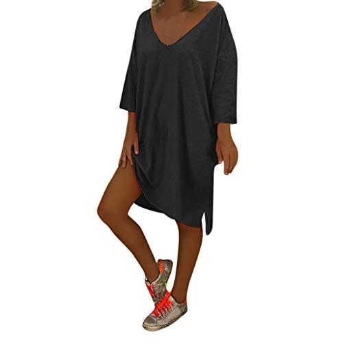 Routinfly-Abito da donna Vestido de Mujer de Verano, Corto, para la Playa,...