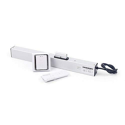 Futchoy Electric Window Opener, Swinging Open Automatic Chain Window Opener with Wireless Remote Control,Travelling Distance Adjustable Window Actuator