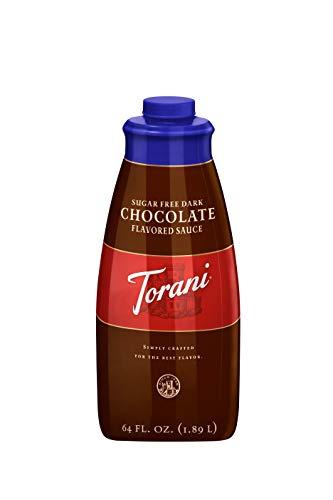 Torani Sugar Free Dark Chocolate Sauce, 64 Ounce