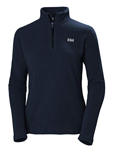 Helly Hansen Damen W Daybreaker 1/2 Zip Fleece Pullover, 599 Navy, L