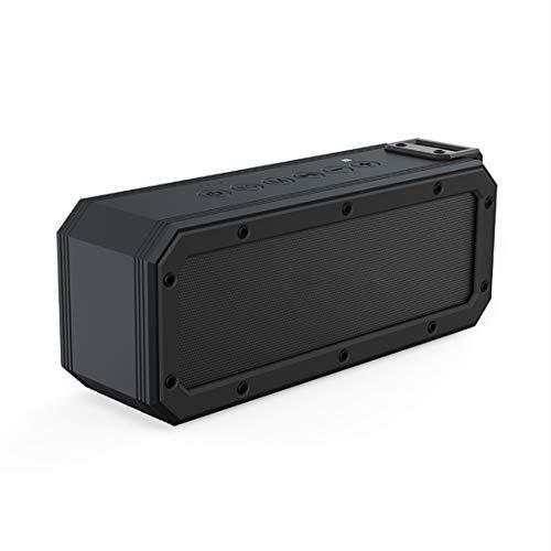HIOD Portátil Bocina Bluetooth Bajo Pesado Al Aire Libre Impermeable Altavoz Inalámbrico Compatible con Tecnología TWS/NFC Alcance Bluetooth 66 pies Efectos Tri-Bass