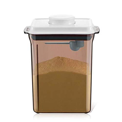 Milk Powder Dispensers Distributore di Latte in Polvere - Contenitore per Latte in Polvere Contenitore di stoccaggio per Latte Artificiale per Bambino ermetico Anti-UV - BPA Free,Transparent,L