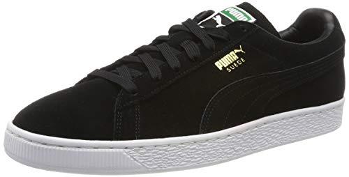 Puma PUMA Herren Suede Classic + Sneakers, Schwarz, 44 EU