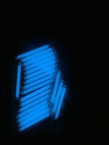 Trigalight Tritium Fläschchen, Rohr, Kapsel Fluoreszierend lampe Lichter - Eisblau, 1.5mm x 6mm