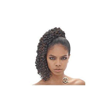 Synthetic Braiding Hair: Femi Synthetic Foxy Braid Color: FS1B/33