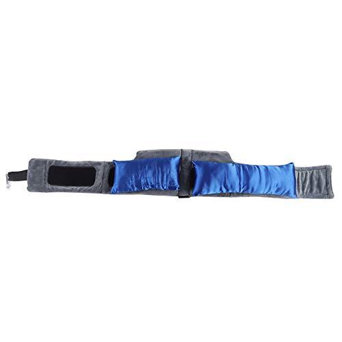 Sollmey Almohada para el Cuello - Almohada portátil para masajear el Cuello para Viajar Almohada de Apoyo para la Espalda