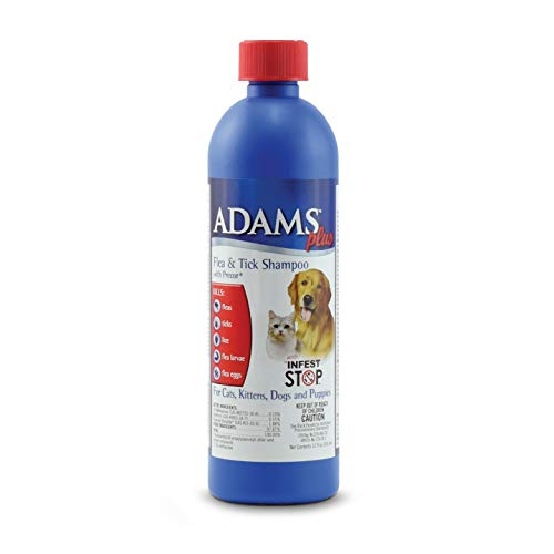 Adams Plus Flea & Tick Shampoo with Precor 12 Ounces