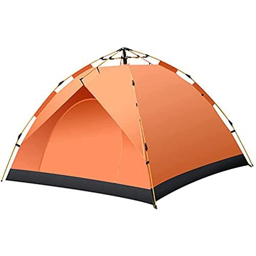 VIIPOO Suministros Al Aire Libre Playa 3-4 Personas Turística Turística Doble Campaña Camping Camping Tienda Al Aire Libre Doble Camping Tienda,Orange-2-3 People