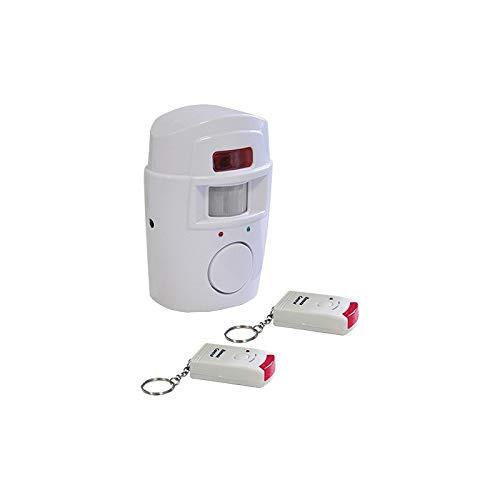 Proxe 560212Mini Steuergerät Alarmanlage mit Bewegungsmelder und 2Fernbedienungen