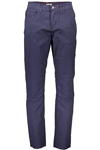 color azul Leber/&Hollman LH-FMN-T/_SBP48 acero, talla 48 Pantalones protectores negro y naranja