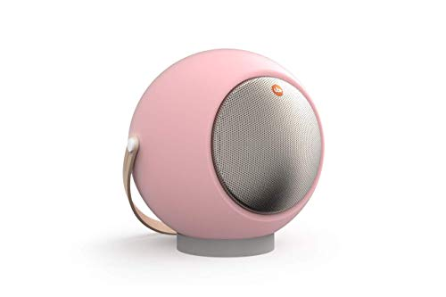 Tgi Eupho E2 AptX Bluetooth Sphärischer Lautsprecher (niedrige Latenzzeit, abnehmbare Beine) Pastellrosa