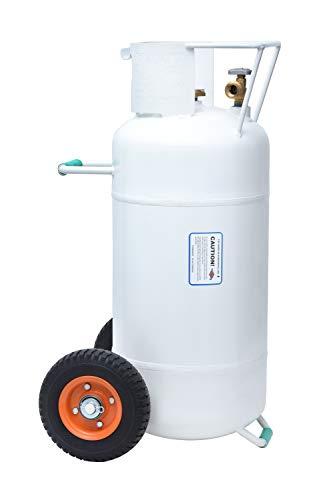 100 lb horizontal propane tank - 1