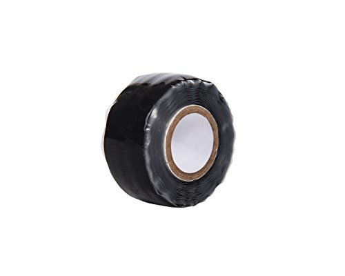 """Hornet Watersports Silicone Grip Tape for Dragon Boat Paddles 6 1 ROLL CAN BE APPLIED TO 2-3 PADDLES: Each roll is 1"""" wide and 78"""" (2M) long. This means that you will be able to make 2-3 grips from 1 roll of our paddling silicone grip tape. IDEAL FOR CARBON FIBER PADDLES: The Hornet silicone grip tape will help you keep a steady grip. It is also a better alternative to wax that results in leaving sticky residue on your hands. COMES IN 6 COLORS: Our silicone grip tape comes in 6 colors: black, blue, red, pink, clear and yellow. It is ideal for dragon boat racing, kayaking, canoeing and other types of watersport paddles."""