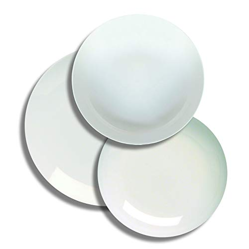 Tognana me070180000 - Vajilla (18 Piezas, Porcelana), Color Blanco