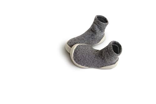 Collegien Planet Hausschuhe Socken grau Gr. 26/27