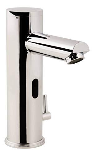 Calmwaters® - Barrierefrei - Berührlungslose Sensor Armatur für Warm- und Kaltwasser mit Infrarot für Waschtische - 14PZ3414