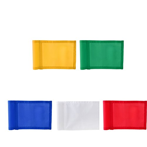 Colcolo Standard 3-part 7'x 5' Nylon Green Flag Putting Golf Putting Exercise