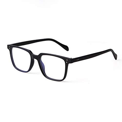 GIFIORE Klassisch Quadratische Brille Blaulichtfilter Retro Computerbrille für Damen Herren (Ohne sehstärke) Blockieren Blaue Licht von PC, TV und Handy