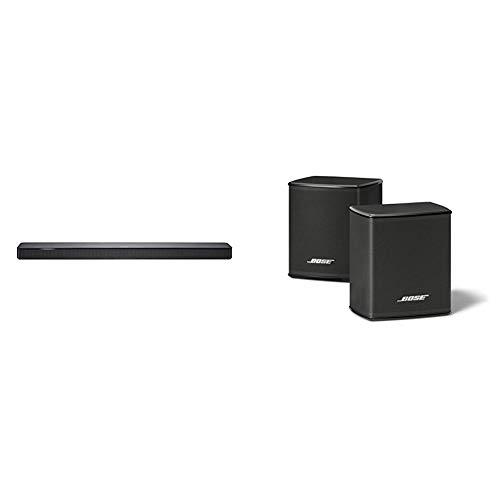Bose Soundbar 500, Bluetooth, Wi-Fi, Nero e Bose Surround Speakers, Suono Surround, Nero
