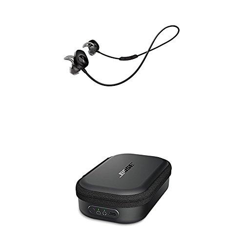 Bose ® SoundSport kabellose Kopfhörer schwarz + Bose ® SoundSport Transportetui mit Ladefunktion