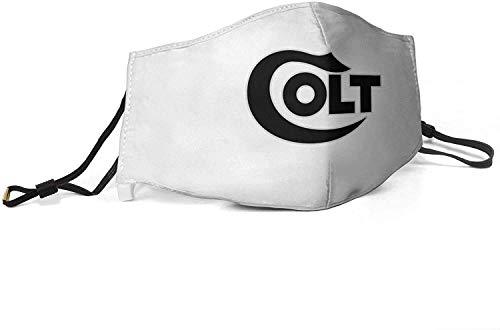 Face Scarf Colt Defense-2 Wintergesichtsschal Waschbar Personalisierte Sturmhaube Herren Winddichter Sonnenschutz Gesichtsschutz Einzigartig Atmungsaktiv Frauen Wiederverwendbar Ha