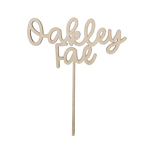 Custom Cake Topper for Birthday, Wedding, Party - Personalized Cake...
