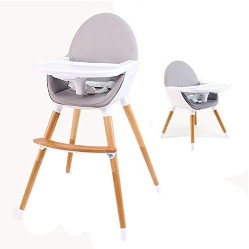 Chaises hautes Convertible pour Bébé De Voyage Portables avec Plateau Ajustable - Gris