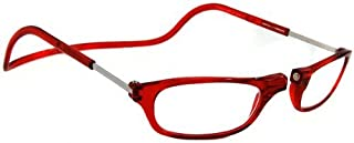 CliC Magnetic Reading Glasses Red (2.00)