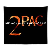 2PAC 2パック Tupac タペストリー 壁掛け装飾 室内装飾 カーテン 布ポスター 多機能 模様替え 部屋 窓カーテン 簡単に掛けられ インテリアグッズ 部屋の仕切り ホリデーパーティー 複数のサイズ 大判装飾布