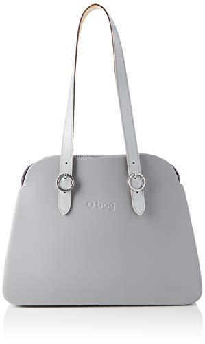 O bag Reverse, Damen Handtasche, hellgrau, Unica